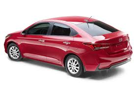 2018 hyundai new car. perfect car exteriors of 2018 hyundai accent are more attractive and seen with new  grille revised head lights wraparound tail lamps as is also on the  and hyundai car