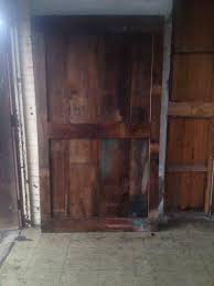 barn door 4 foot x 7 foot tall this door was installed on bryant s seafood in