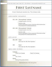 Creative Resume Templates Microsoft Word 2003 Resume Template Free