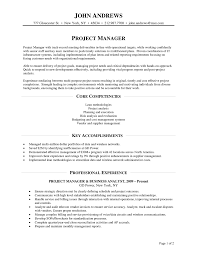 Telecommunications Project Manager Resume Sample Telecom Best