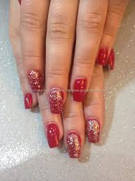 Eye Candy Nails & Training - Acrylic nails with kiss and tell gel ...