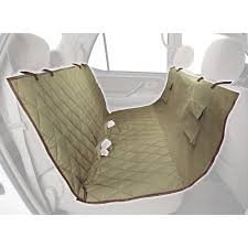 solvit deluxe hammock quilted pet bench seat cover