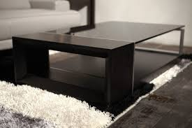 large size of coffee tables black wood glass top square coffee table living room long
