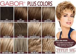 Gabor Plus Colors And Luminous Color Charts Canada Wigs