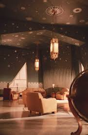 Yeah--the ceiling sells it. The Aviator - Juan Trippe's office with  beautiful starred ceiling.