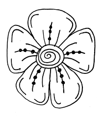 Small Picture Simple To Draw Flowers How An Easy Flower Step 6 1 000000033519 5