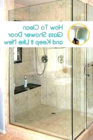 hard water stains on shower doors how do you clean hard water spots off glass shower