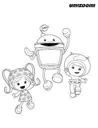 Umizoomi Coloring Pages Team Printable Christmas Littledelhisfus