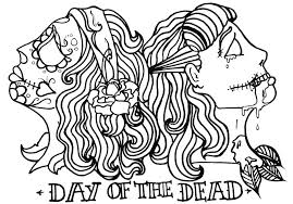 Small Picture Coloring Pages Day Of The Dead Sugar Skulls Coloring Pages