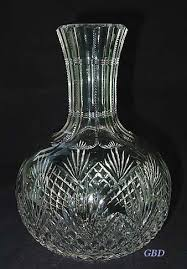 abp cut glass water decanter tb clark nmint glass brilliant cut and crystal at victorian glass plus