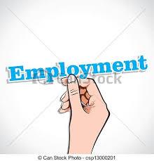 Employment Words Clipart