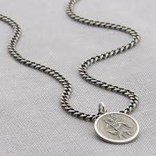 personalised sterling silver st