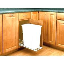 double wood trash bin double trash bin double trash can cabinet wooden trash bins for kitchen