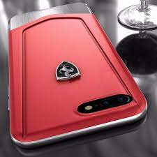 Officially licensed ferrari cases and covers, computer bags, tablet bags, and airpods cases. Ferrari Apple Iphone 8 Plus Moranello Series Luxurious Leather Metal Case Limited Edition Back Cover Iphone 8 Plus Apple Mobile Tablet Luxurious Covers