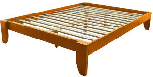 wood bed frame king. Amazon.com: Copenhagen All Wood Platform Bed Frame, King, Walnut: Kitchen \u0026 Dining Frame King O