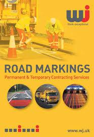 road marking services permanent road markings wj road markings