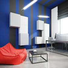 Modular Wall Storage Exotic Black Floor Paint Color Feat Cool Modular Wall Storage And