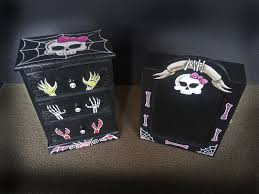 Monster High Custom Painted Furniture