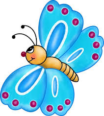 spring butterfly clipart. Beautiful Spring On Spring Butterfly Clipart B