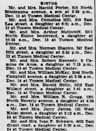 Birth - Daughter of Ivan Franklin Schwarz and Rosalie (Kalusa) Schwarz -  Newspapers.com