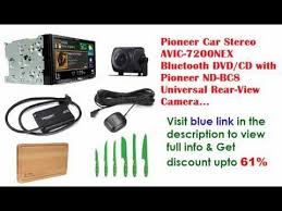 pioneer 7200nex. pioneer car stereo avic-7200nex bluetooth dvd/cd with nd-bc8 universal rear-view camera 7200nex