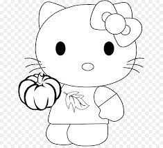 Hello Kitty Coloring Book Drawing Kleurplaat Child Bb 8 Png