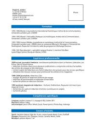 Example French CV  Archant