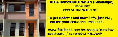 likewise House and Lot for Sale in Cebu and Bohol  Deca Homes Baywalk furthermore DECA HOMES     Cebu Home Properties   Cebu Home Properties additionally  together with Cebu Home Finder also Deca Homes Cebu   Home   Facebook together with 8990 Housing   More Than Just Housing also 30K Downpayment   RENT TO OWN Townhouse in DECA Homes Cebu besides THE ALL NEW LOOK OF DECA HOMES TALISAY BAYWALK PHASE 2   cheap furthermore  likewise Project – DECA Cebu Urban Homes. on deca homes cebu new open