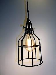 cage light fixture wire cage light covers hand made coated wire cage light single bulb hanging light com wire wire cage light cage ceiling light fixture