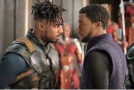 Image result for black panther love and support scenes