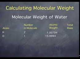 Calculating Molecular Weight