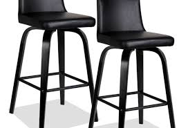 bar : Dark Brown With Braid Ratan Counter Height Bar Stools For ...