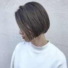 ハイライトにショートボブ Instagramkento1107 髪 色 Pinterest