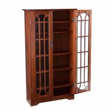 new dvd cd blu ray media storage cabinet glass doors wood shelf new dvd cd blu ray media storage cabinet glass doors wood shelf bookcase oak nib