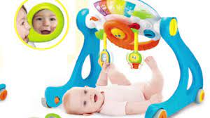 Đồ chơi vận động cho bé từ 0 đến 6 tháng tuổi - Winfun.vn - YouTube