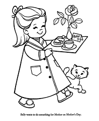 Small Picture Breakfast in Bed for Mom Mothers Day Coloring Pages I heart