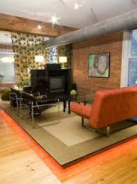 photos hgtv burnt orange living room furniture