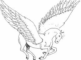Small Picture Pegasus Coloring Pages Print Color Craft