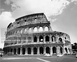 famous architectural buildings black and white. Colosseum Rome Italy - Stock Photo Famous Architectural Buildings Black And White