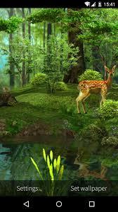 3D Deer-Nature Live Wallpaper for ...
