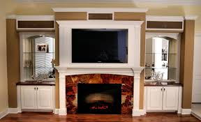 wall units built in fireplace entertainment center built in entertainment center with fireplace designs electric