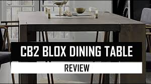 Cb2 Dining Table Youtube