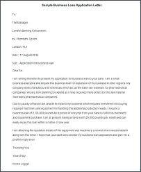 Loan Letter Template Edunova Co
