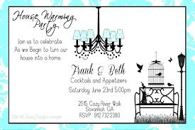 Housewarming Card Templates Template Housewarming Party Invitation Wording House