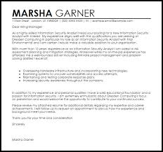 security cover letter samples information security analyst cover letter sample livecareer