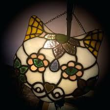 cat stained glass cat stained glass night light cat stained glass