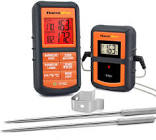 ThermoPro TP08S Wireless Digital Meat Thermometer for Grilling Smoker