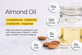 almond oil nutrition facts calories