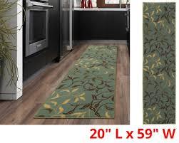 carpet runner rug oriental hall area rugs modern long floor rubber non slip back