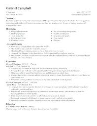 Assistant Manager Resume Objective Best of Objective For Manager Resume Armnico